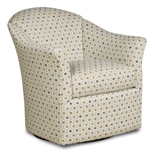 Fairfield Chair Transitional Tub Swivel Barrel Chair