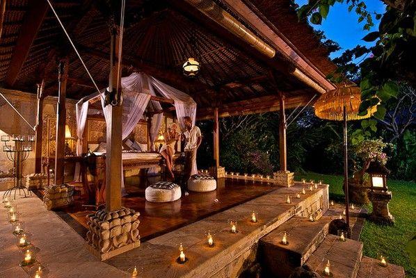 The rooms at this resort are built in a traditional Balinese style. #resort #beachfront #holiday #luxury #bali #indonesia   http://thebeachfrontclub.com/beach-hotel/asia/indonesia/bali/pemuteran-beach-east/matahari-beach-resort-spa/