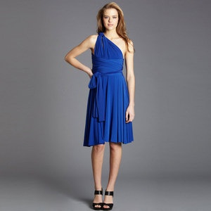 Von Vonni Transformer Dress: can be worn 25 (!) different ways. Perfect for those of us with fashion A.D.D.: Von Involved, Transformer Dress, Transformers Dresses, Dresses Shorts, Dresses Ideas, Vonni Transformers, Shorts Dresses, Convertible Bridesmaid Dresses, Shorts Cobalt