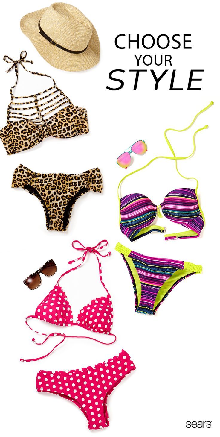 Let your sunny spirit soar in these juniors' swimsuits at Sears. For a fun look by the pool or at the beach, find your swimwear style with a brand like Bongo. From bikinis to monokinis to tankinis, find your precise fit with Sears's selection of swimwear that offers support with full lined cups and adjustable bottoms and tops. Discover more with Sears's selection of swimwear today.