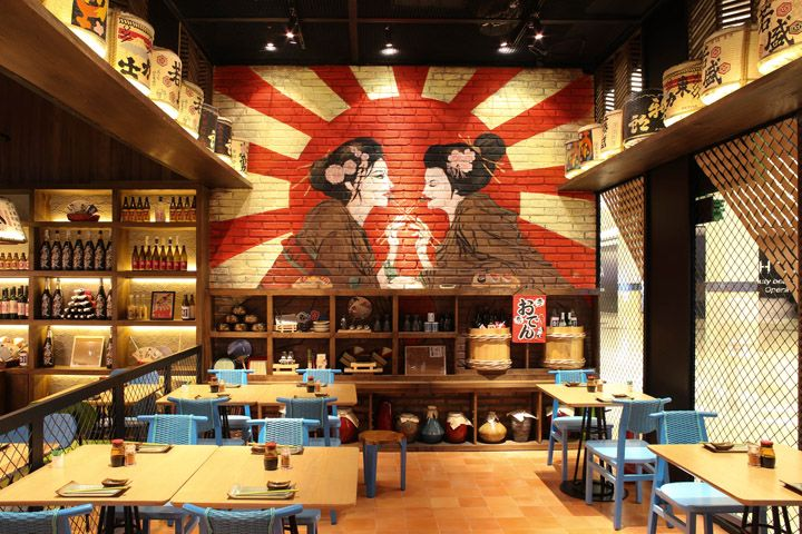 Sushi Groove Market restaurant by AlvinT Studio, Jakarta – Indonesia | The VM Space