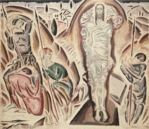 The Resurrection - Konstantinos Parthenis