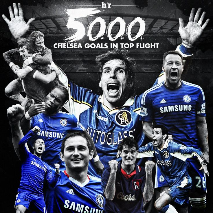 Eden Hazard scores Chelsea's 5000th goal in the English top flight  #CFC