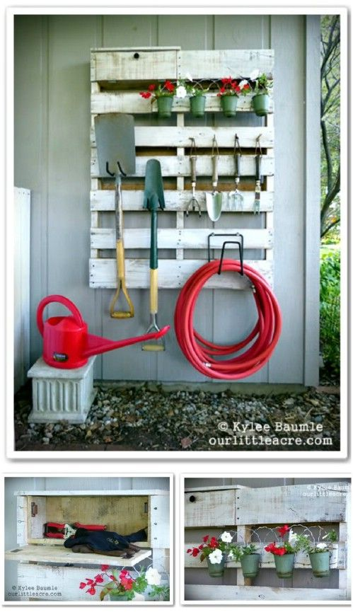 Creative DIY Pallet Storage Ideas and Projects11