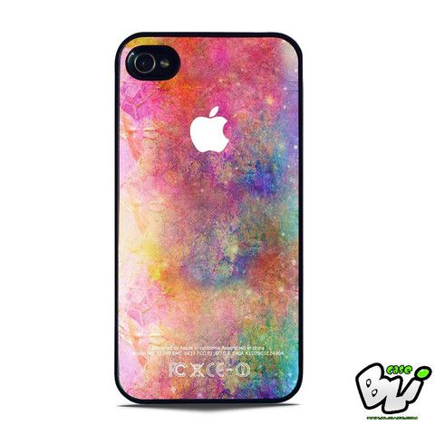 Abstract Water Color iPhone SE Case