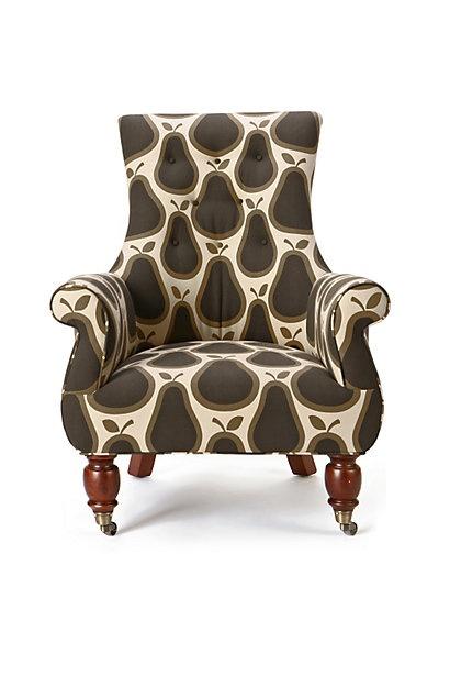 Orla Kiely Pear Print Chair   Yes, Please!