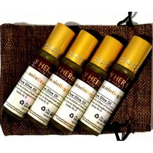 Biblical Anointing Oil - 4 pack plus bag - https://wexcellent.com/store/index.php?route=product/products&path=168
