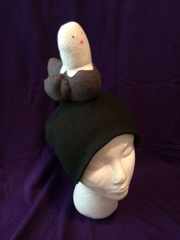 Head Pigeon Disease (Hat) by FoundandStitched on Etsy https://www.etsy.com/listing/220725419/head-pigeon-disease-hat