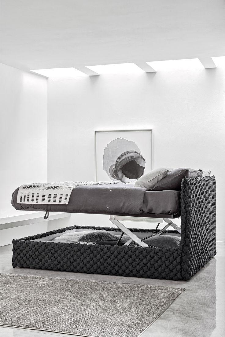 Knockdown bed, multilayer and solid wood frame