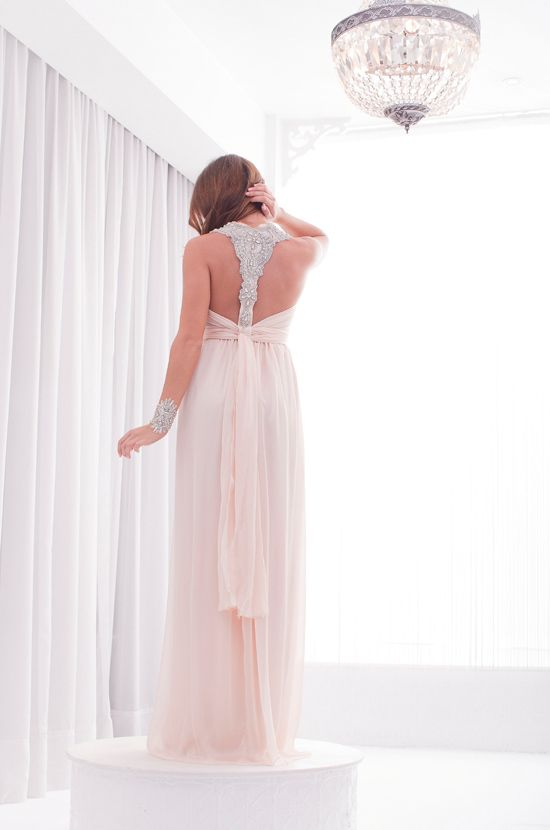 Love Love Love the back    Anna Campbell Bridesmaids Luxe Collection