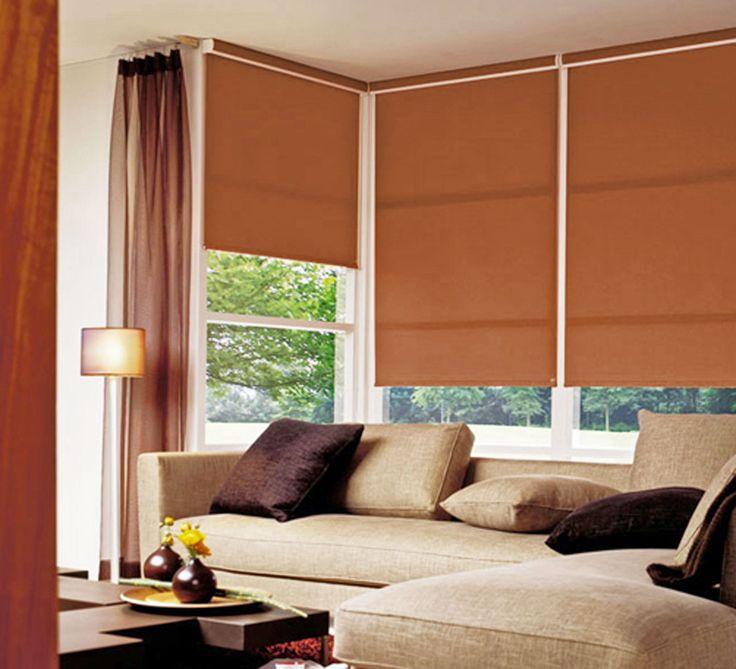10 melhores imagens de cortinas persianas no pinterest persianas tons e cortinas - Persianas roller ...