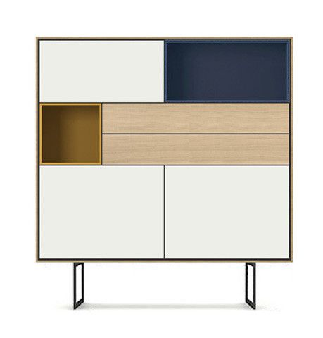 Aura Cabinet | Designed by Angel Marti and Enrique Delamo for Treku Meubles in Spain | ELLE Decoration NL