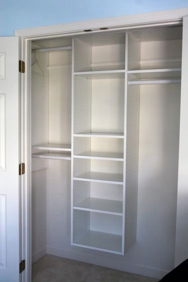 Small+Closet+Organization+Ideas | What better way to spend a weekend than organizing and building a ... by geneva