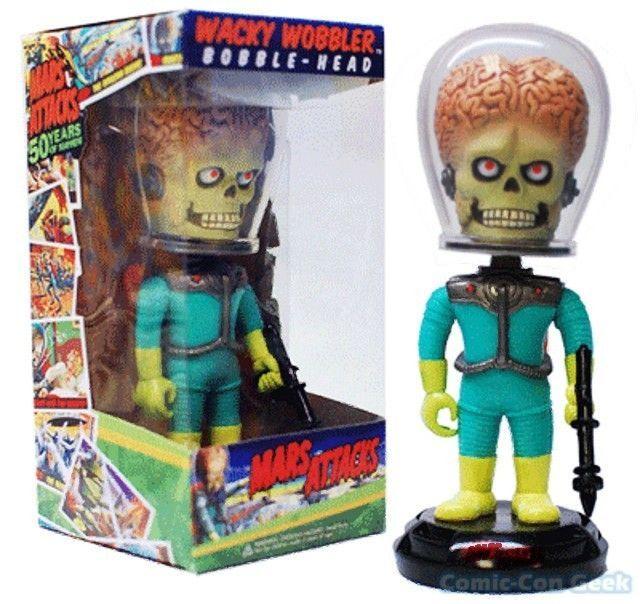MARS ATTACKS Alien Invader  Wacky Wobbler Funko Bobble Head   | eBay