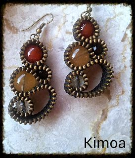 kimoa: Earrings ZIP autumn 2013
