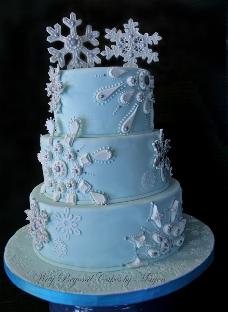 Winter Wonderland Cake Designs