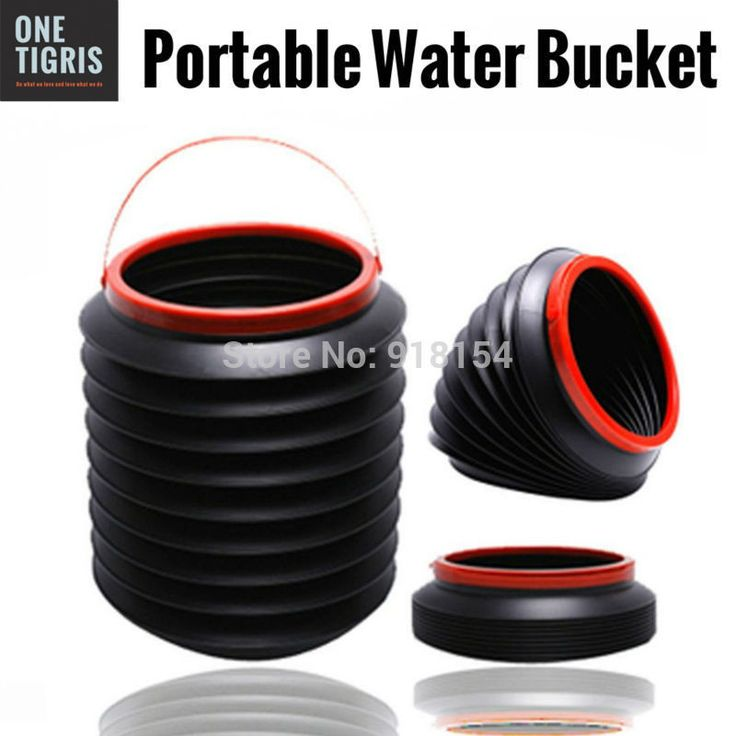 1 Gallon 4 Liter Portable Folding Water Bucket Collapsible Camp Storage Emergency Survival SHTF Camping Hiking Bugout This multi-purpose collapsing water bucket is a great gadget which can be widely u