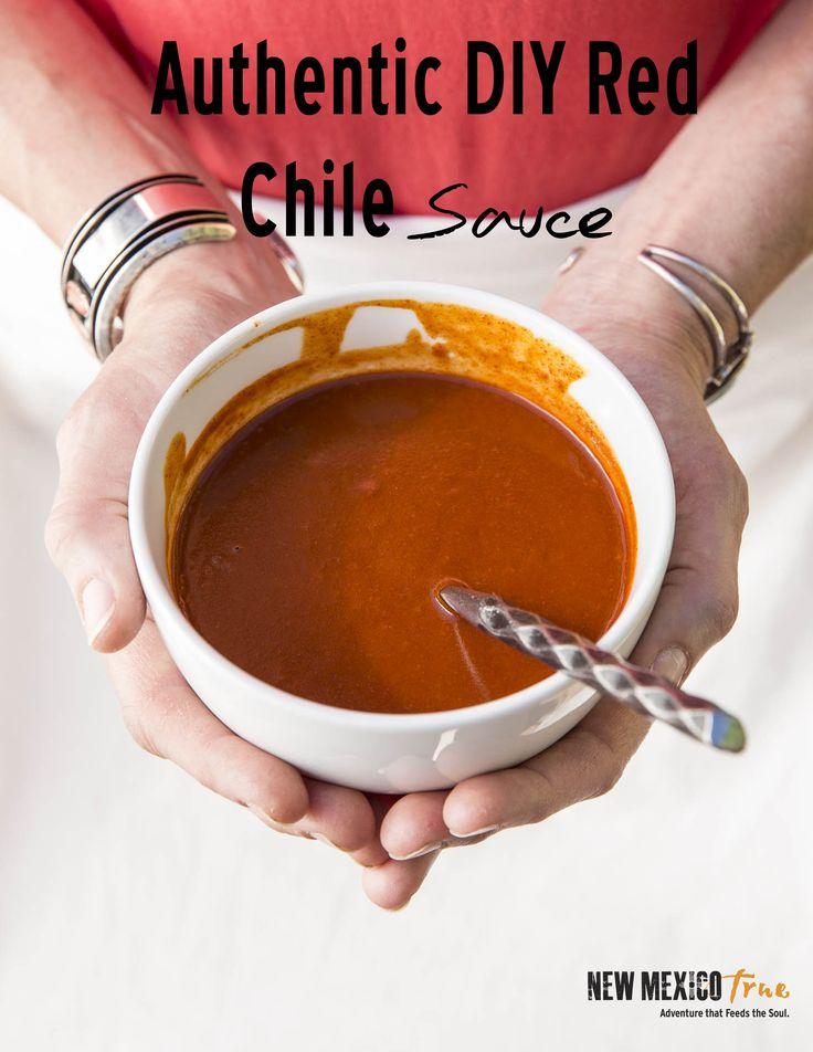 authentic DIY red chile sauce - smother enchiladas, burritos, tamales, Huevos Rancheros or calabacitas. Freezer and vegetarian friendly.