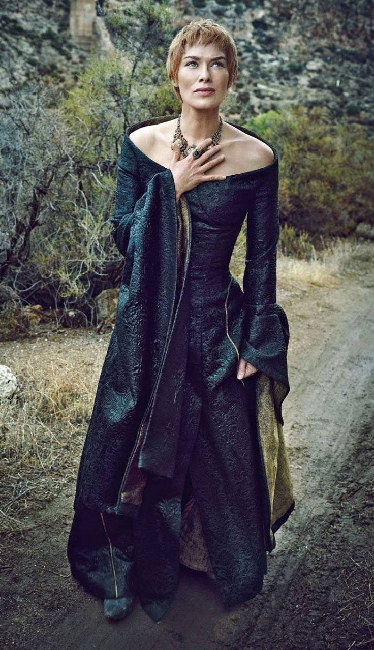 """Game of Thrones S6 Lena Headey as """"Cersei Lannister"""""""
