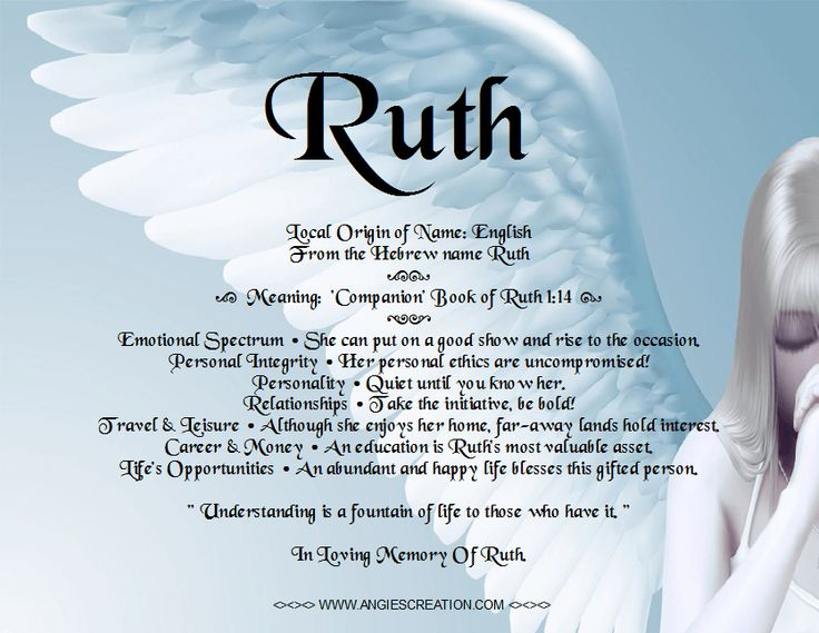 Image result for ruth meaning
