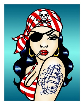 lowbrow Pirate Art | LOWBROW on the HIGH SEAS 6: The Pirate Arrt Show!