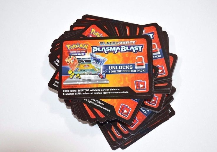 Other Pok mon TCG Items 2608: Pokemon Bw Plasma Blast Virtual Booster Pack Code Cards X 36 Online Tcg 23 -> BUY IT NOW ONLY: $31.49 on eBay!