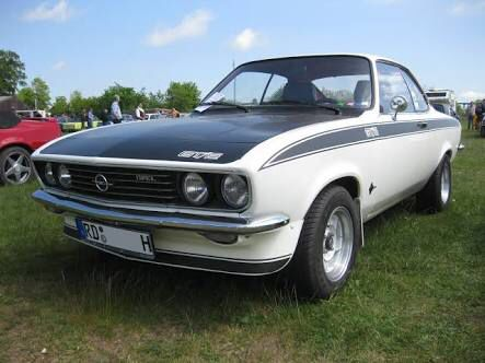 """1971 Opel Manta 1900. One of the coolest cars ever. We """"felt like king of the castle"""" in this."""