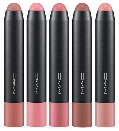 MAC MACnificent Me Patentpolish Lip Pencils| I absolutely love this product! Vibrant color even when it's sheer, also hydrates your lips very much!
