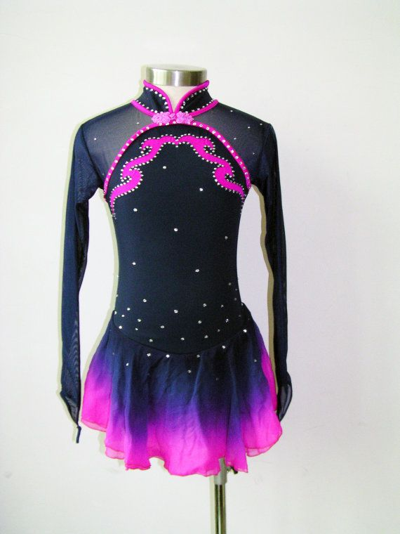 Custom Figure Skating Competition Dress -- 'Athena' on Etsy, $94.00