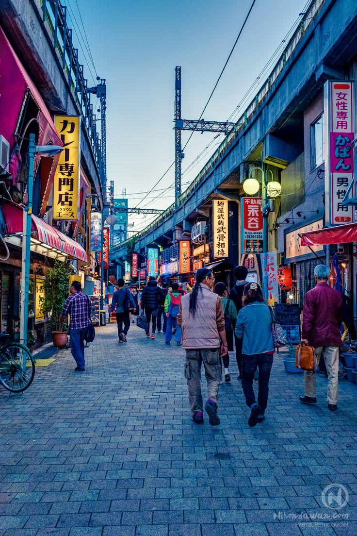 Japan Tokyo Ueno Ameyoko Street Market photography