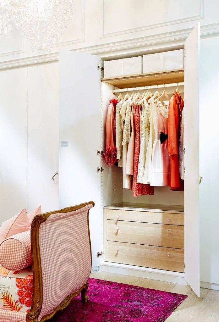 90 best ikea closets images on pinterest bedrooms walk in closet and dressing room. Black Bedroom Furniture Sets. Home Design Ideas