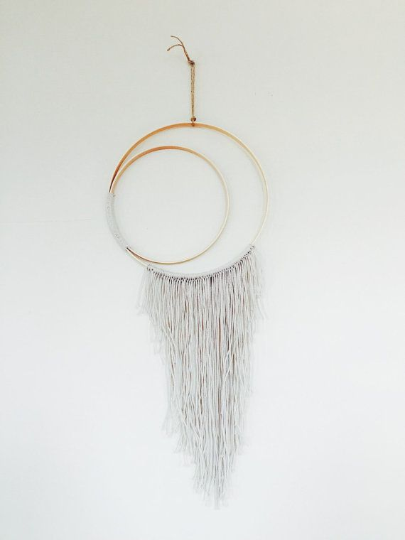 CRESCENT MOON // wall hanging etsy.com/shop/bohemianharvest