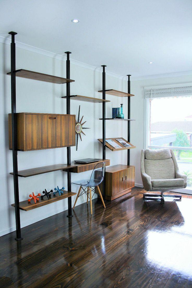MID Century Room Divider Wall Unit Desk System Retro Vintage Sideboard Ladderax Herman Miller CSS Style, VIC | eBay 360 Modern Furniture