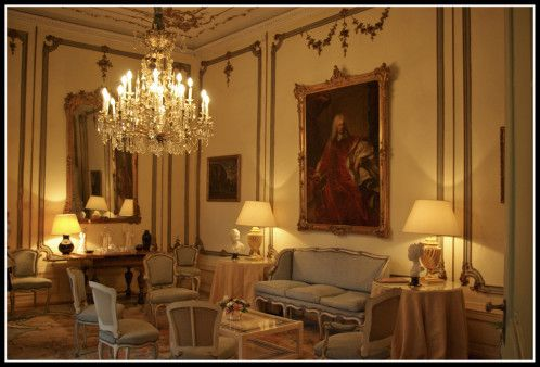 D coration salon louis xv for Salon louis 16