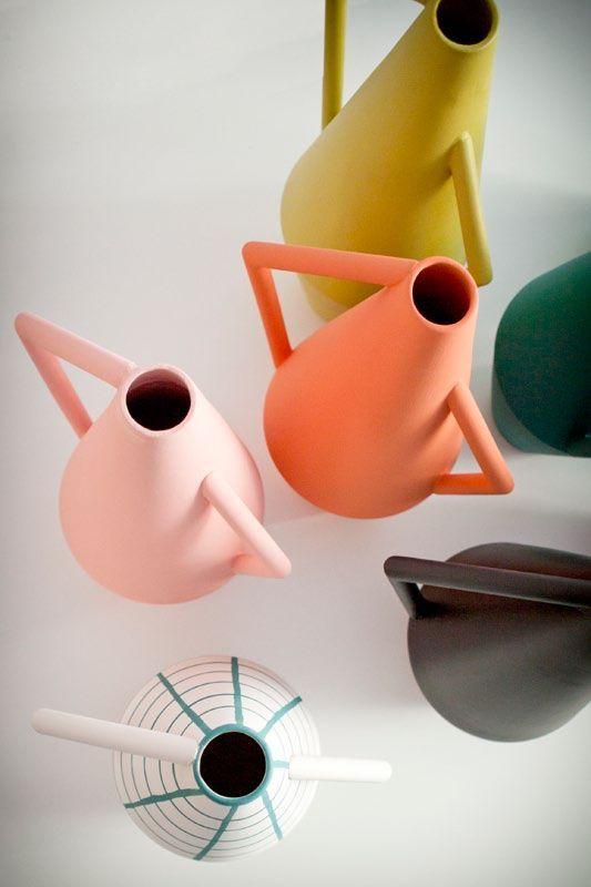 (18) Colored Kora Vases by Studiopepe