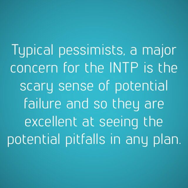 INTPs: They know exactly how you'll go down.
