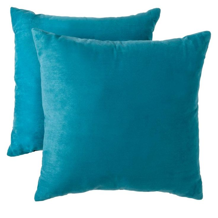 Room Essentials™ Suede Pillow 2-Pack (18x18