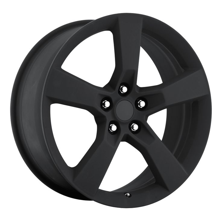Chevrolet Camaro 2010-2012 20x9 5x4.75  35 - Replica Wheel -  Satin Black With Cap
