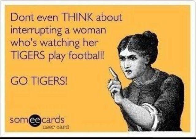 Tiger Football @Brooke Williams Williams @Phyllis Simons Simons Neel