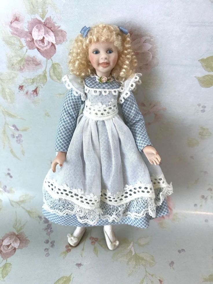 Pat Melvin, IGMA artisan - porcelain little girl