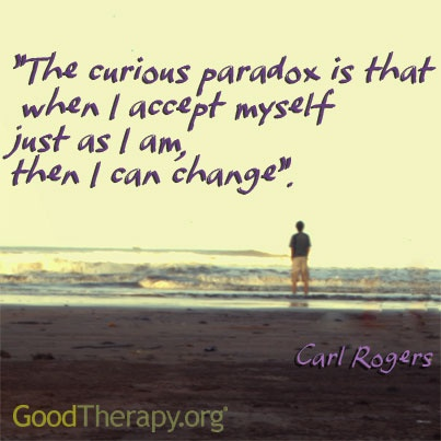 The curious paradox...