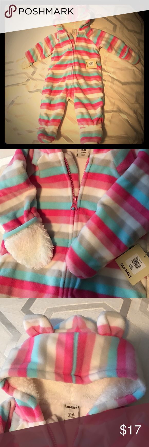 New Old Navy one-piece Really soft and warm Old Navy Jackets & Coats
