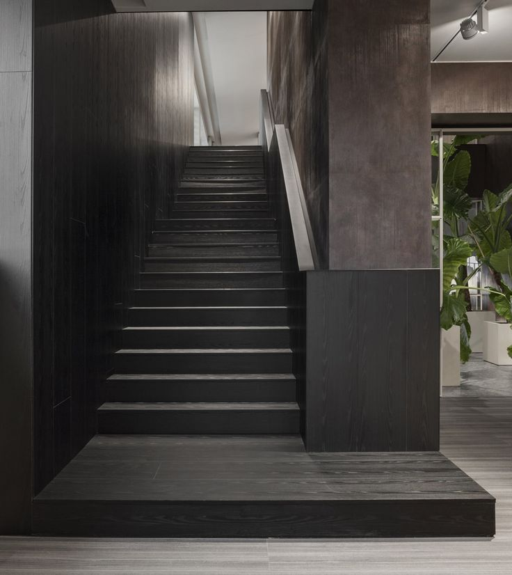 stairs molteni showroom in giussano italy by vincent van