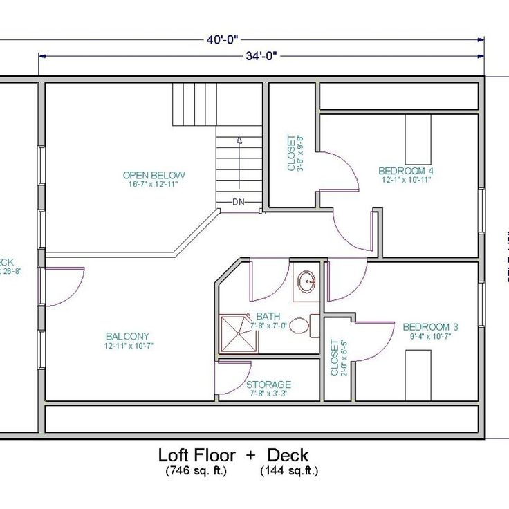 small home floor plans with loft - Design Home Floor Plans