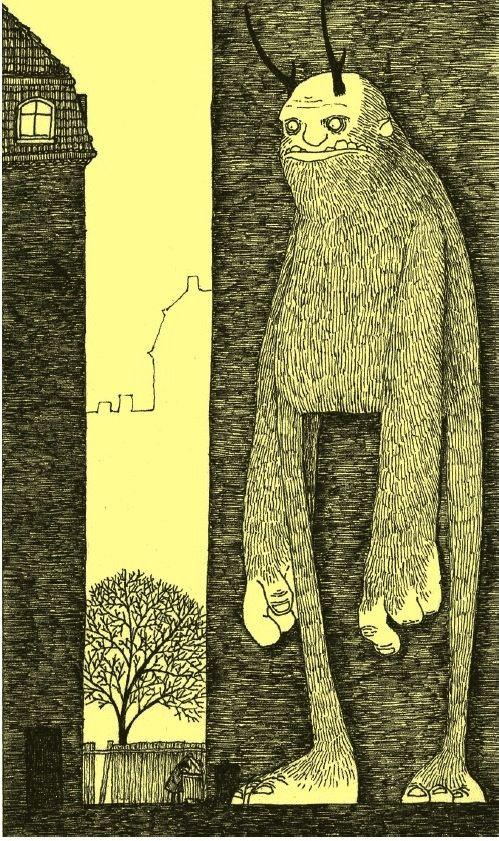 Post-it monsters by John Kenn Mortensen
