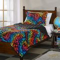 Psychedelic Animal Microplush 3-piece Comforter Set | Overstock.com Shopping - The Best Deals on Kids' Comforter Sets