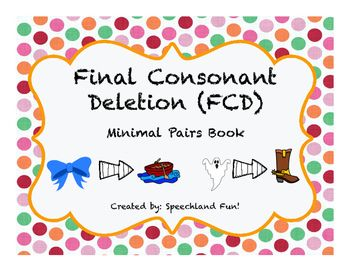 Available now as a FREEBIE!Fun way to teach and review final consonant deletion. Includes a poster to provide visual and tactile cueing!Enjoy!