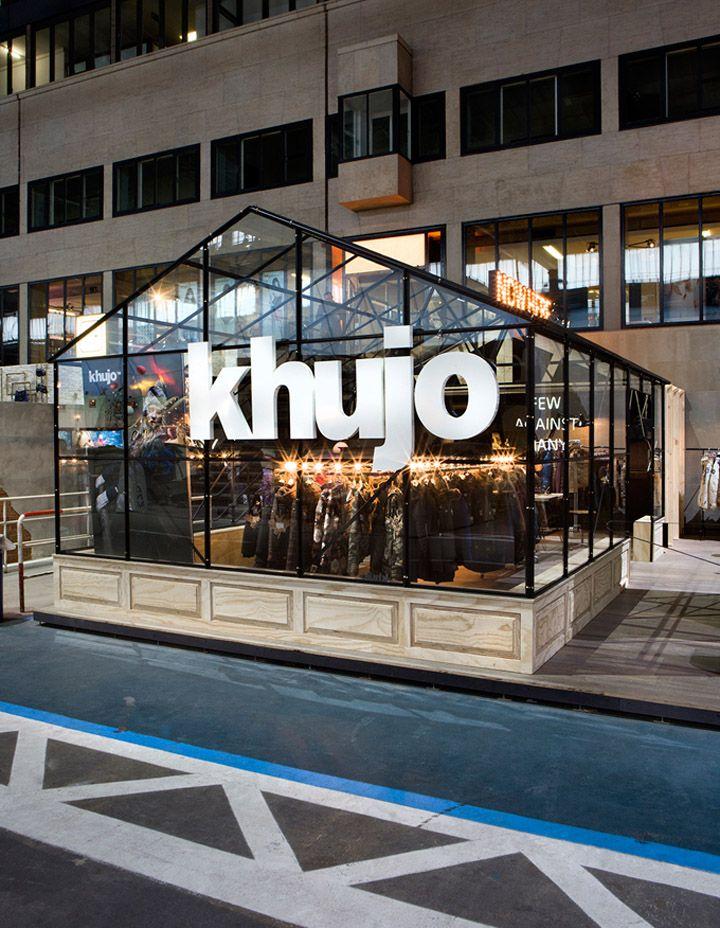 Bread & Butter Berlin 2013 Winter – KHUJO booth by Werkstatt65 exhibit design