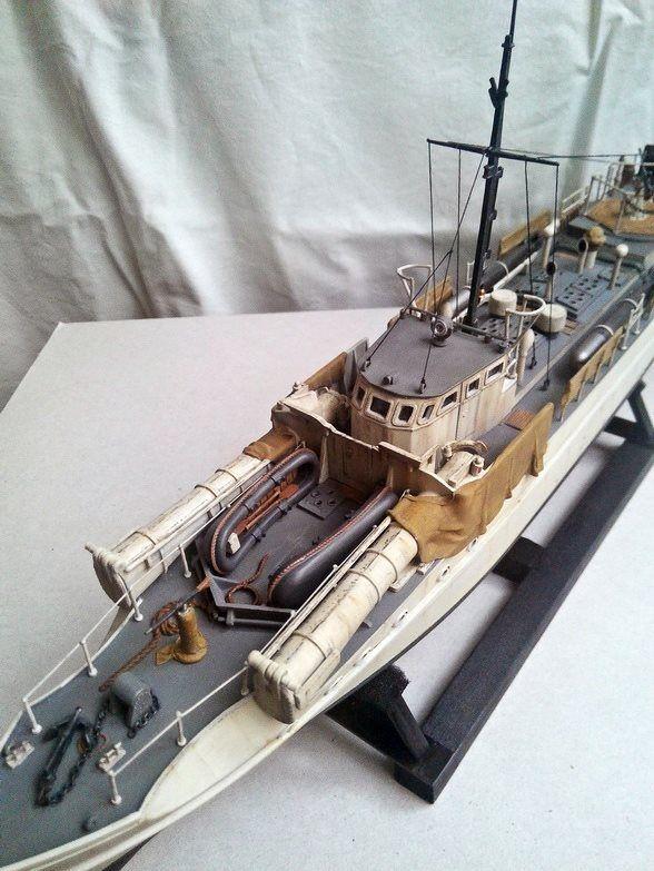 miniafv: Airfix 1/72 German E-Boat (or S-Boot) (by Barış ...