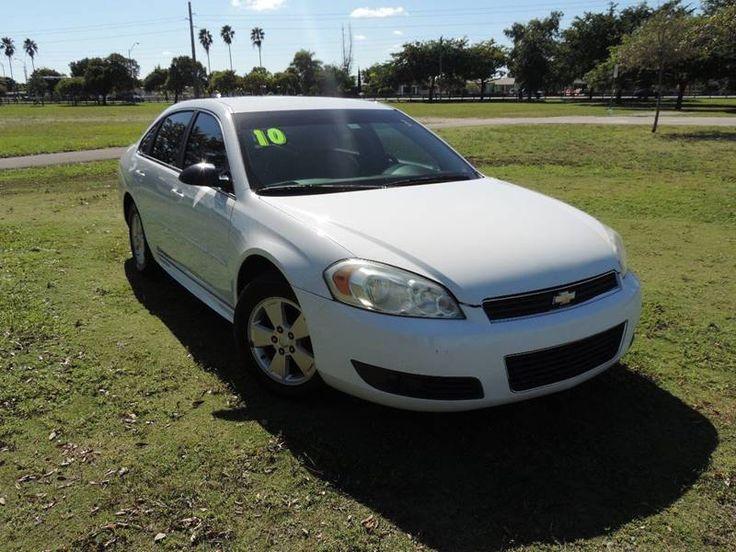 2010 Chevrolet Impala LT 4dr Sedan In Hialeah FL - A&D Motor Sales #No credit no problem